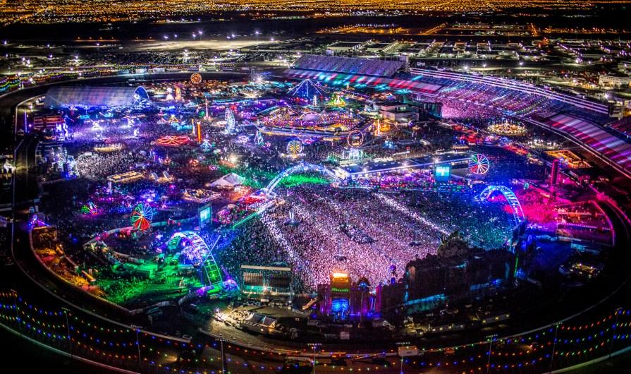 EDC Vegas 2017 at Las Vegas Motor Speedway