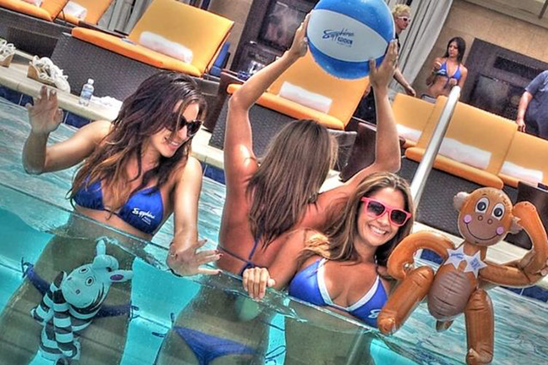 Sapphires Pool Party and Dayclub in Las Vegas