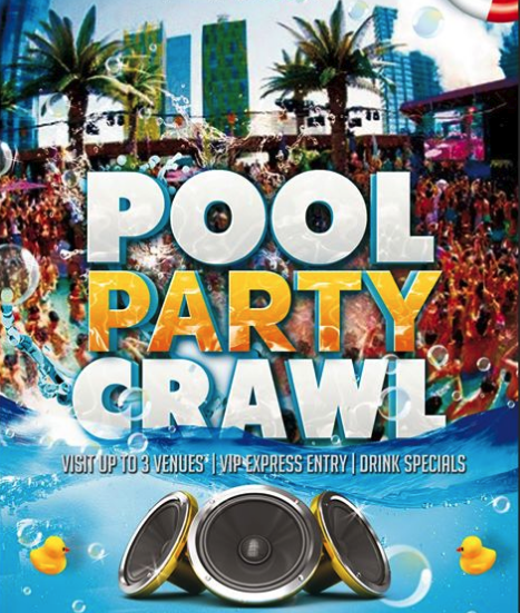 Pool Party Crawl
