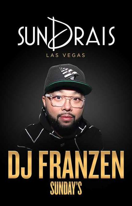 DJ Franzen - Sundrais at Drai's Nightclub on Sun 11/29