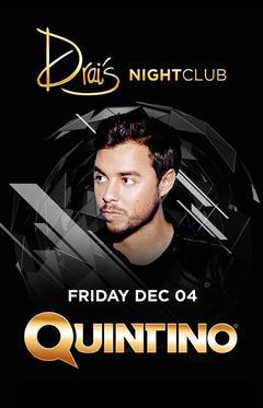Quintino at Drai's Nightclub on Fri 12/4