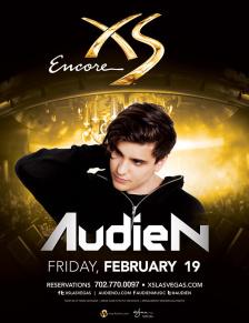 Audien at XS Nightclub on Fri 2/19
