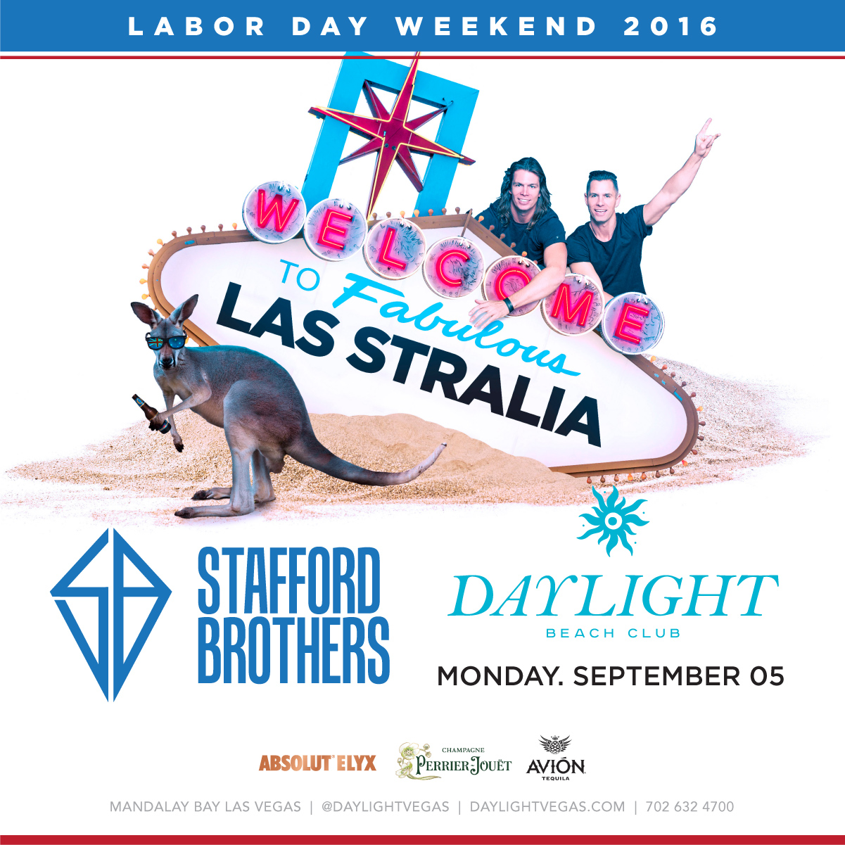 stafford brothers labor day weekend at daylight beach club on monday september 5 galavantier. Black Bedroom Furniture Sets. Home Design Ideas
