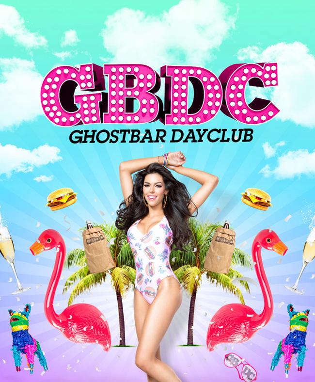 Ghostbar Dayclub at GBDC - Ghostbar Dayclub on Sat 11/28