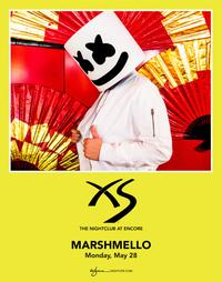 MARSHMELLO at XS Nightclub on Mon 5/28