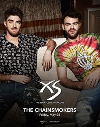 THE CHAINSMOKERS at XS Nightclub on Fri 5/25