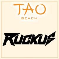 DJ RUCKUS at TAO Beach on Fri 5/25