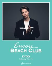 KYGO at Encore Beach Club  on Sat 6/16