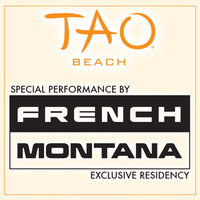 FRENCH MONTANA at TAO Beach on Sat 7/28