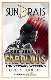 FABOLOUS at Drai's Nightclub on Sun 6/10