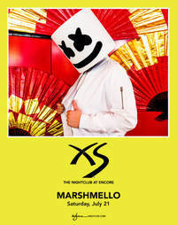 MARSHMELLO at XS Nightclub on Sat 7/21