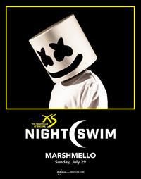 MARSHMELLO - NIGHTSWIM at XS Nightclub on Sun 7/29