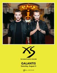 GALANTIS at XS Nightclub on Sat 8/4