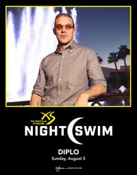 DIPLO - NIGHTSWIM at XS Nightclub on Sun 8/5