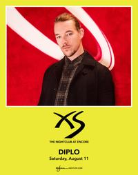 DIPLO at XS Nightclub on Sat 8/11