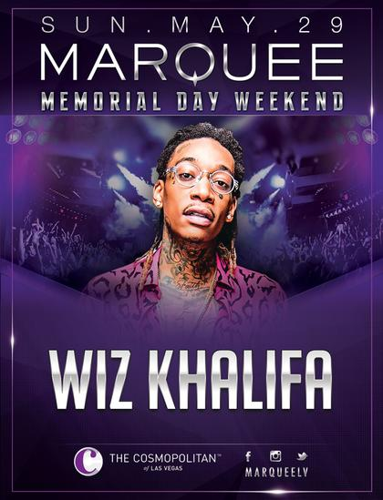 Wiz khalifa memorial day weekend at marquee nightclub on for Wiz khalifa button down shirt