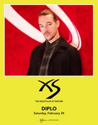 DIPLO at XS Nightclub on Sat 2/24