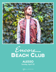 ALESSO at Encore Beach Club  on Sun 4/22