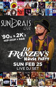 DJ FRANZENS HOUSE PARTY at Drai's Nightclub on Sun 2/25