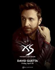 DAVID GUETTA at XS Nightclub on Fri 4/20