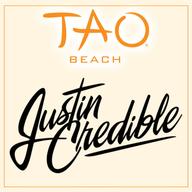 JUSTIN CREDIBLE at TAO Beach on Sat 7/21