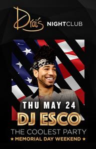 DJ ESCO at Drai's Nightclub on Thu 5/24