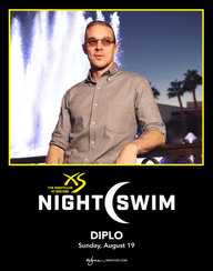 DIPLO - NIGHTSWIM at XS Nightclub on Sun 8/19