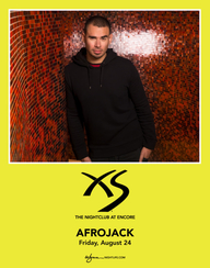 AFROJACK at XS Nightclub on Fri 8/24
