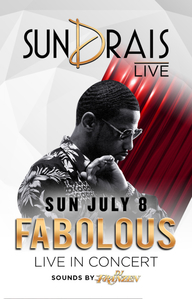 FABOLOUS at Drai's Nightclub on Sun 7/8