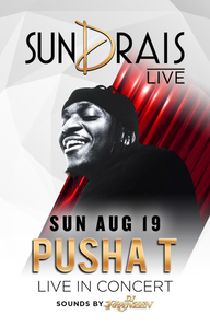 PUSHA T at Drai's Nightclub on Sun 8/19