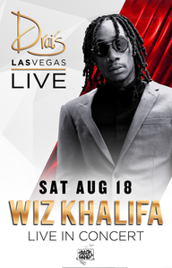 WIZ KHALIFA at Drai's Nightclub on Sat 8/18