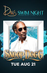 SNOOP DOGG at Drai's Nightclub on Tue 8/21