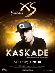 Kaskade at XS Nightclub on Sat 6/18