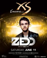 Zedd at XS Nightclub on Sat 6/11