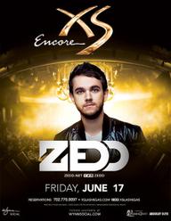 Zedd at XS Nightclub on Fri 6/17