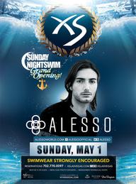Alesso Sunday Nightswim at XS Nightclub on Sun 5/1