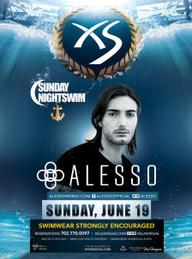 Alesso at XS Nightclub on Sun 6/19