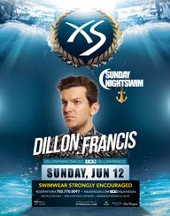 Dillon Francis - Sunday Night Swim at XS Nightclub on Sun 6/12