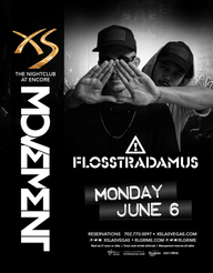 Flosstradamus at XS Nightclub on Mon 6/6