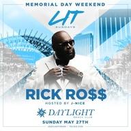 MDW 2018  Rick Ross at DAYLIGHT Beach Club at Daylight Beach Club on Sun 5/27