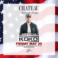 Memorial Day Weekend Friday at Chateau Nightclub on Fri 5/25