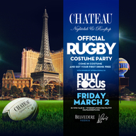 Official Rugby Costume Party with International DJ Fully Focus at Chateau Nightclub on Fri 3/2