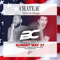 Memorial Day Weekend Sunday at Chateau Nightclub on Sun 5/27