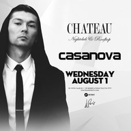 Chateau Wednesday at Chateau Nightclub on Wed 8/1