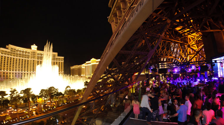 Paris Hotel Las Vegas Chateau Nightclub