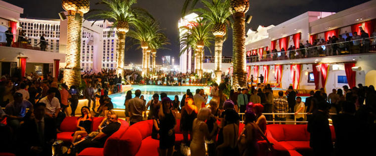 Drai's nightclub bottle service Vegas