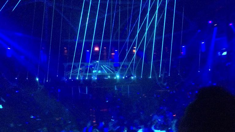 Las Vegas Hakkasan nightclub MGM