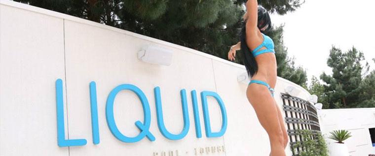 Aria Resort Liquid Pool Las Vegas