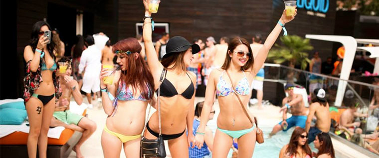 Cabana Liquid summer pool party