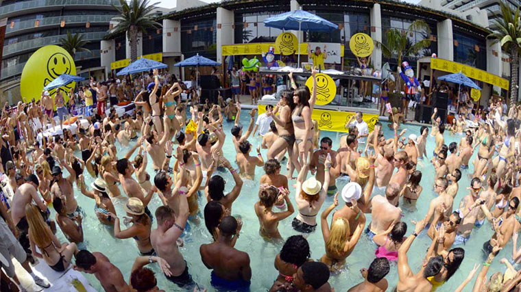 Pool party summer Vegas Marquee Dayclub